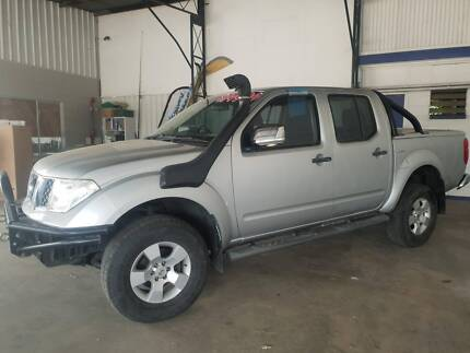 2007 Nissan Navara ST-X D40 Diesel Dual Cab 4WD Lissner Charters Towers Area Preview