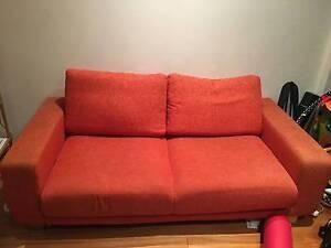 Gorgeous orange Freedom sofa for sale Maroubra Eastern Suburbs Preview