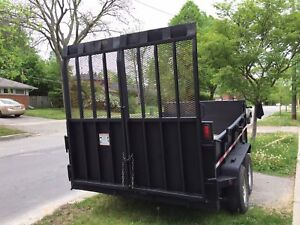 $7000 HD DUMP TRAILER FOR SALE WITH HD RAMPS