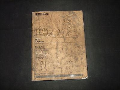 Cat Caterpillar D7g Crawler Tractor Dozer Parts Book Manual Sn 92v11898-up