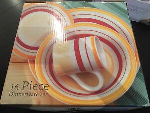 Set de vaiselle 16 pieces
