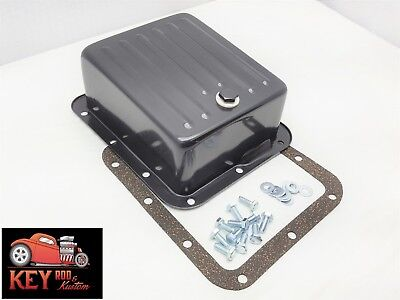Ford C4 Black Deep extra capacity transmission pan Mustang f150 truck Bronco for sale  Paris