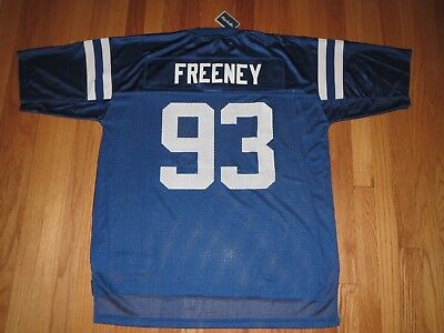 Freeney Jersey (Indianapolis Colts Dwight Freeney NFL JERSEY Men's 2XL **NEW**)