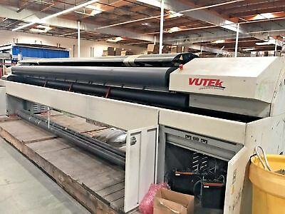 Vutek Ultra Vu 5300 Super Wide Digital Printing System 5 Meter Capacity