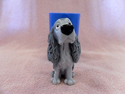 """""""Cocker Spaniel 1"""" dog silicone mold for soap and candles making"""