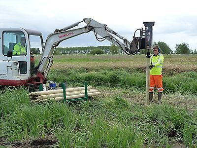 Field Fencing - HIRE Post Knocker / Driver / Rammer Digger Hire Norwich Norfolk