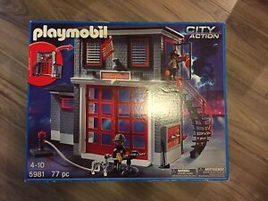 Playmobil Fire Rescue Station 5981