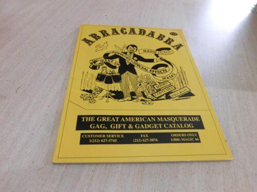Magic / Magician Supply Catalog: Abracadabra Great American Masquerade Gags