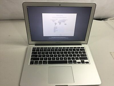 "Apple MacBook Air 13.3"" Laptop - Mid 2012 MD846LL/A 2Ghz Core i7 8GB 256GB"