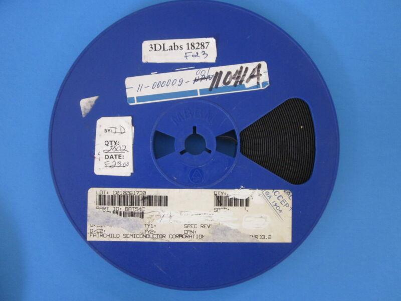 Schottky Barrier Diode P/N BAT54C, Reel of 2800