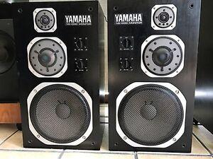 YAMAHA-NS-1000M-Studio-Monitor-Vintage-1975-Very-Rare-Original-Working-Perfect