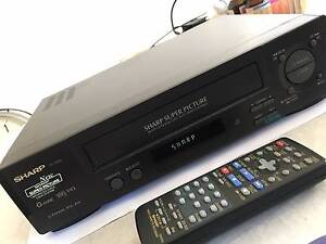 Sharp VC-A260 VCR player Carina Brisbane South East Preview