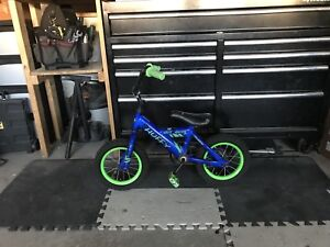 Kids bicycle- Huffy with training wheels