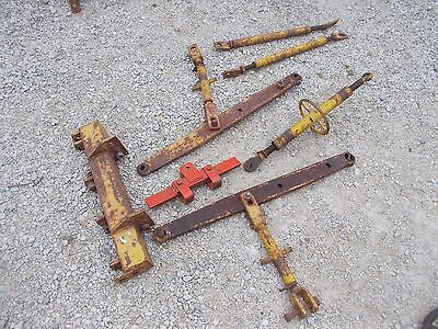 Allis Chalmers Wd 45 Tractor 3pt Hitch Top Lift Arm Assembly W Top Link Holder