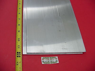 2 Pieces 14x 8 6061 Aluminum Bar 12 Long T6 New Extruded Mill Bar Stock