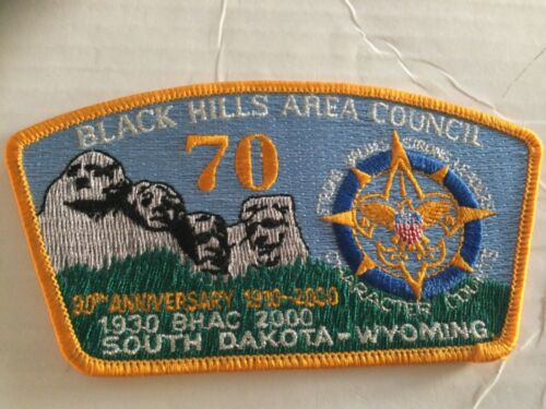 Black Hills Area Council CSP S6 70th Anniversary 2000 SALE!!