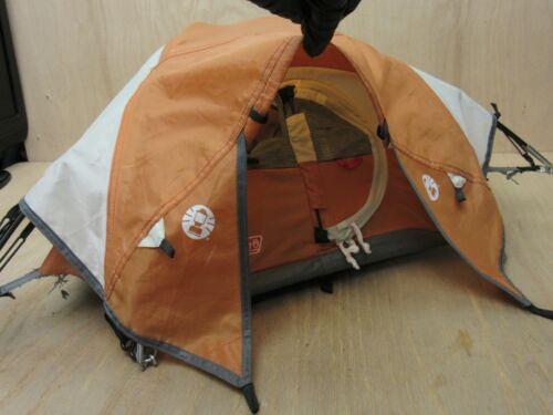 "Coleman ORANGE Tent Store Shelf Salesman Display Sample 24""x20""x10"" Mini *INFO*"