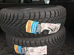 2  pirelli new snow tires 150$ for the pair 1956515