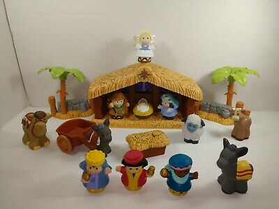 Fisher Price Little People A Christmas Story Nativity Working Music with box