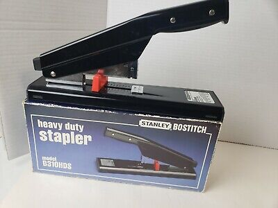Stanley Bostitch Hd Stapler B310hds Heavy Duty 130-sheet Capacity