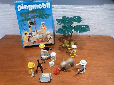 Playmobil 3414 Safari Film Set vollständig mit OVP