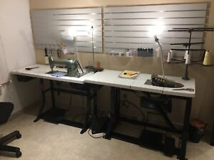 Industrial sewing machine and serger for sale!