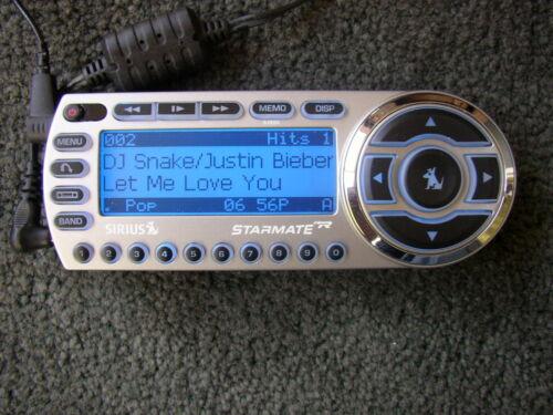 SIRIUS ST2-r Starmate 2 satellite radio W/Car kit, Remote LIFETIME Guaranteed!