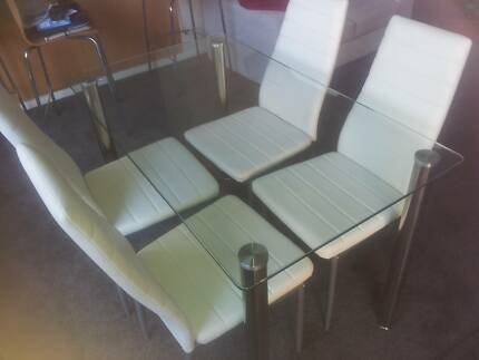 Dining table and 4 chairs Caringbah Sutherland Area Preview