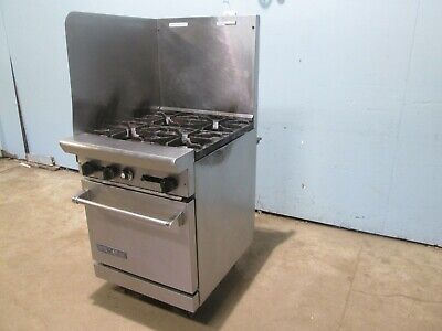 American Range Ar-4 Commercial H.d. Nsf Natural Gas 4 Burners Stove Woven