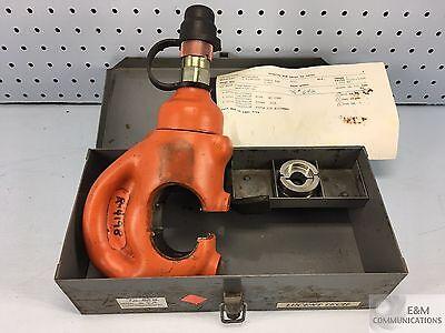 R4198 Hydraulic Power Hylug Crimper R4205a U29rtwe 40 Awg Flex Index 16 Die