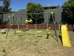 As New Swing Set From Bunnings