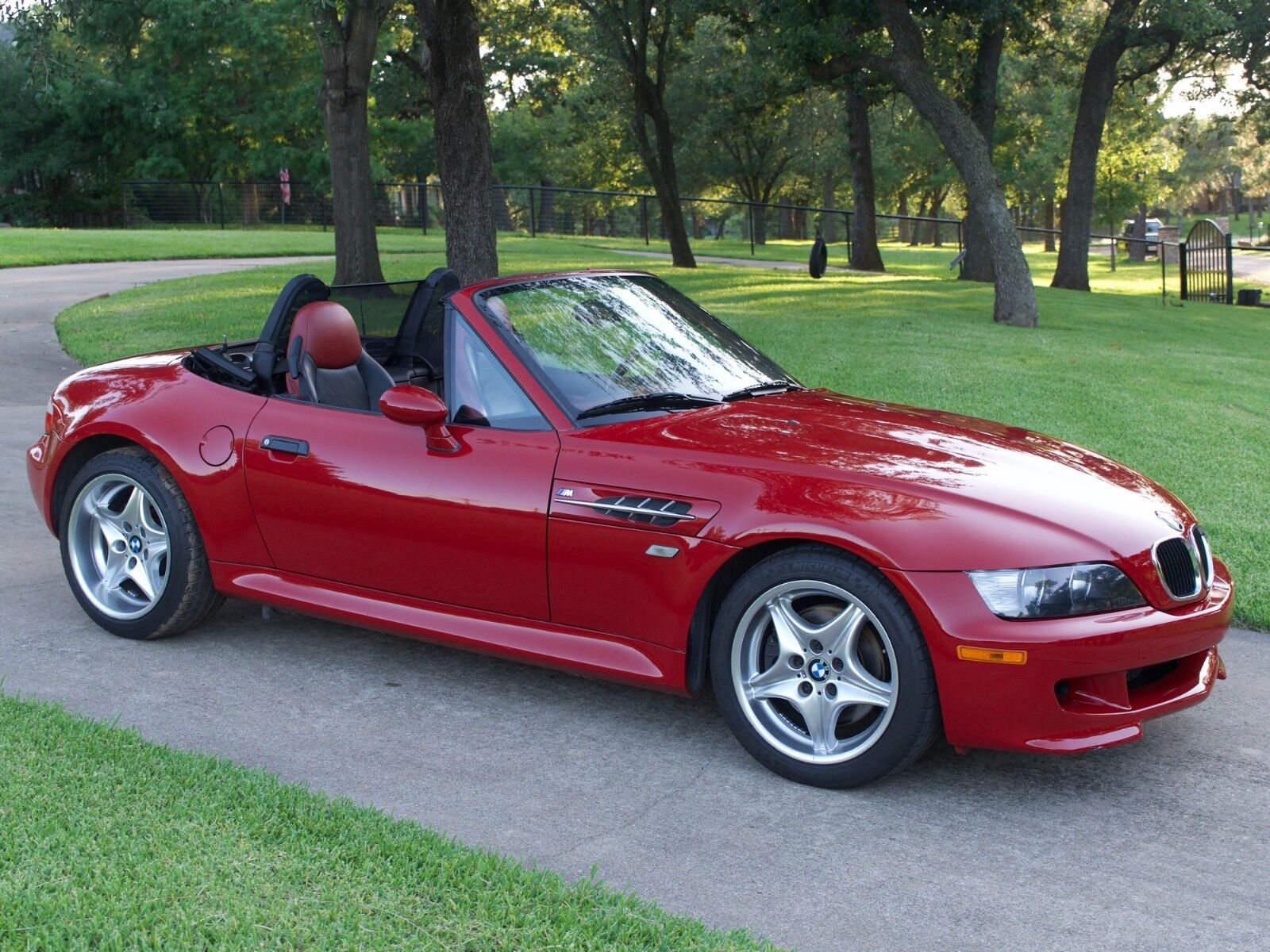 2000 Bmw Z3 M Roadster Imola Red - One Of A Kind - Only ...