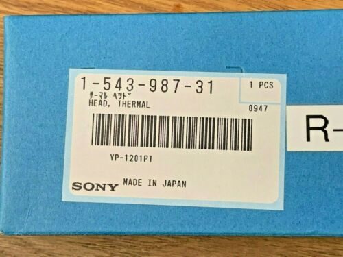 Sony Thermal Printhead 1-543-987-31