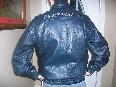 Harley Davidson Man's Leather Jacket RN 103819/CA 03402