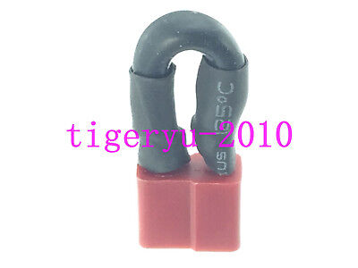 151F 10PCS Black Red Storage Battery Terminal Boot Insulating Cover Sleeve 20x12