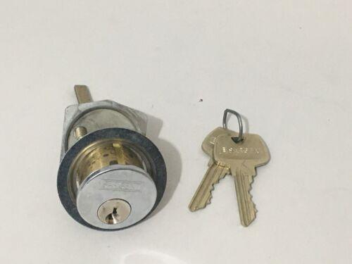 SARGENT Assa Abloy Rim Cylinder Lock w/ 2 Keys RG Keyway Locksmith Locksport