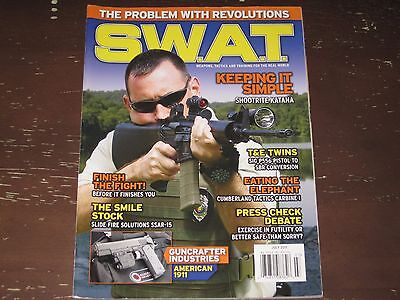 S.W.A.T. MAGAZINE -- WEAPONS, TACTICS & TRAINING -- JULY 2011 -- FREE SHIPPING!! for sale  Shipping to Canada
