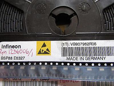 Bsp88e6327 Infineon Trans-mosfet N-ch 240v 0.35a 4-pin 3tab Sot-223 10 Piece
