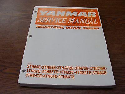 Yanmar Service Manual- Diesel Engine-free Shipping