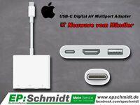 ✅ Apple USB-C Digital AV Multiport Adapter   Original   NEUWARE Thüringen - Artern/Unstrut Vorschau