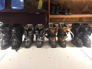Ski boots (each pair priced in description)