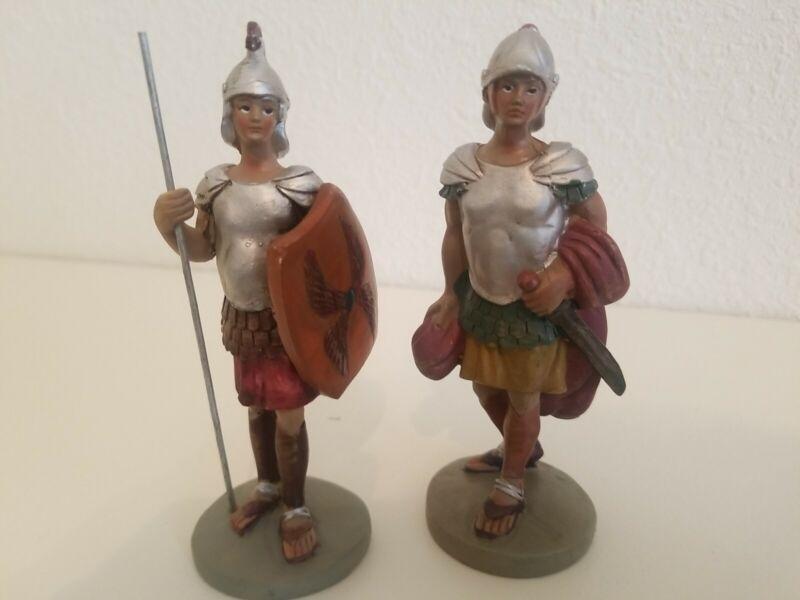 Medieval knight figurines