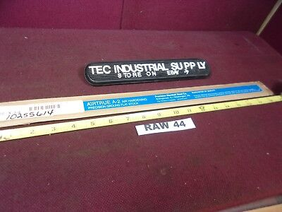 A2 A-2 Tool Steel Precision Ground Flat Steel 316 X 34 X 18 Raw44