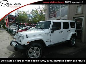 2011 Jeep Wrangler Unlimited Sahara 4X4 UNLIMITED
