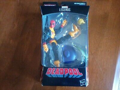 NEW IN BOX MARVEL LEGENDS DEADPOOL BUILD A FIGURE DR. KARL LYKOS