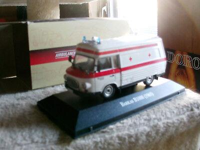 IXO, 1:43, Ambulance Collection, Barkas B1000 SMH-3 Krankenwagen