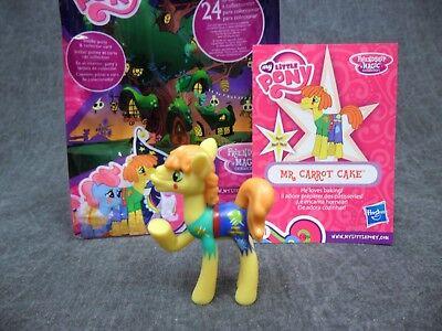 My Little Pony NEW * Mr Carrot Cake * Blind Bag Mini MLP Friendship Is - Mr Cake Mlp
