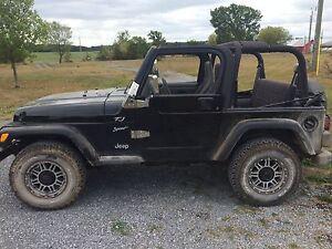 2002 Jeep TJ 97500km