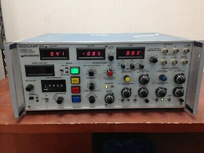 Axon Instruments Axoclamp-2a Current And Voltage Clamp Power On Oo196