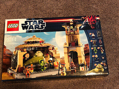 Lego Star Wars Jabba's Palace (9516) New in Box RETIRED Never Opened Non Smoker
